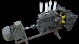 Компрессор из двигателя  ВАЗ 2106 - под Пескоструй