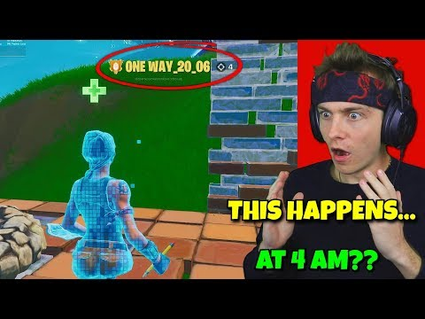 i spectated default skins at 4 am to see fake noobs... (shocking)