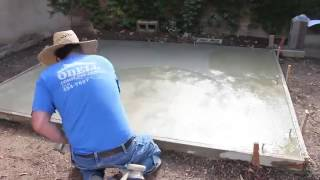DIY How To Pour A Concrete Slab For Your Shed