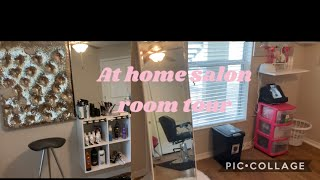 MY AT HOME SALON ROOM TOUR||I'VE CAME A LONG WAY||ENTREPRENEUR LIFE