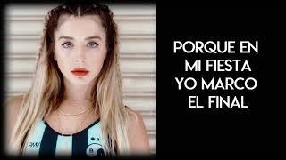 Lola Indigo  Fuerte [Lyrics]