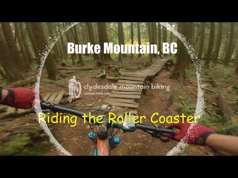 Burke Mountain   Fun Factory    Riding the Roller Coaster