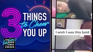 Don't Fall Asleep In School Zoom! - 3 Things to Cheer You Up