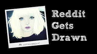 Reddit Gets Drawn – Digital Speed Paint #002