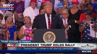 FULL SPEECH: Trump Defends Charlottesville Remarks, Bashes Media, Talks Arpaio at Phoenix Rally