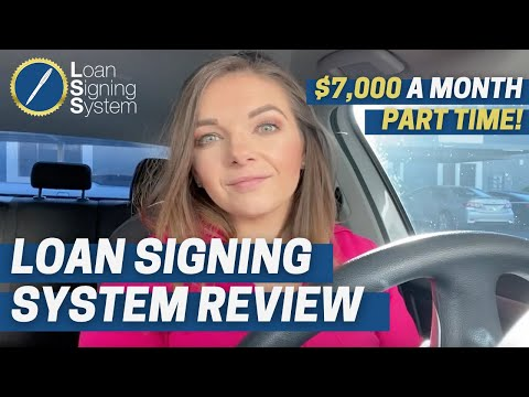 Loan Signing System Review: $7,000 a month PART-TIME notary ...
