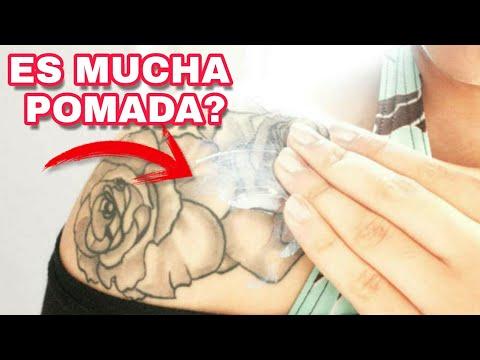 Cuanta pomada uso en mi tatuaje??  - Balink Tattoo Mx