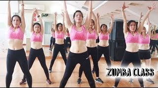 easy Aerobic dance workout for weight loss l Aerobic zumba dance workout for beginners l Zumba Class