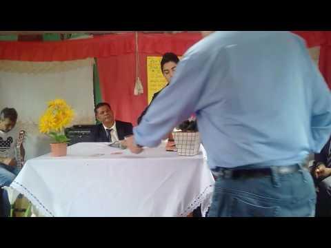Miqueias Daniel adorando a deus em Bela vista da Caroba na assembleia de deus argentina