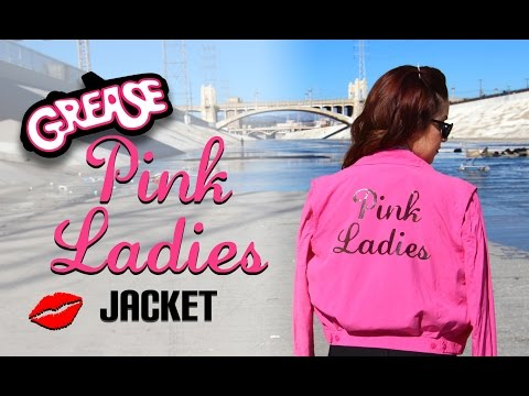 DIY Grease Pink Ladies Jacket || Lucykiins