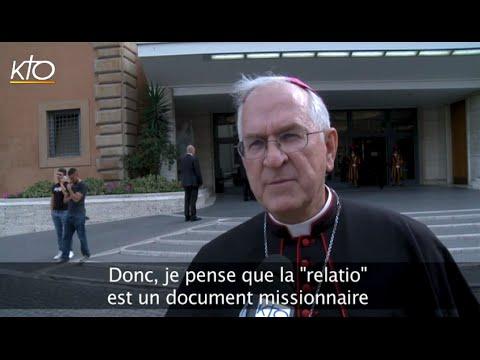 Mgr Kurtz : La Relatio post disceptationem, un document missionnaire