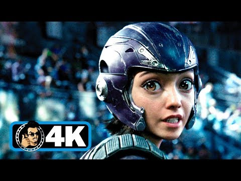 ALITA: BATTLE ANGEL - Stadium Fight Scene