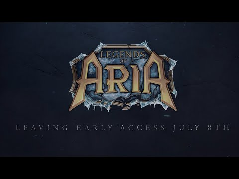 Legends of Aria Leaving Early Access, Launching With Point Release 10 On July 8th