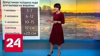 """""""Погода 24"""": опасный лед"""