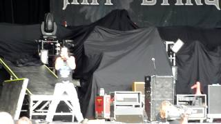 1. Art of Dying - Straight Across My Mind - Live at Rock Fest- July 19, 2012 - Cadott, WI