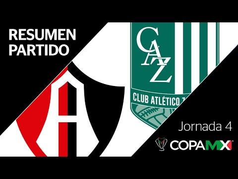 Resumen y Goles | Atlas vs Atlético Zacatepec | Copa MX - Apertura 2019  - Jornada 4