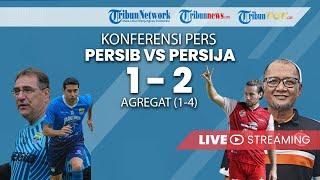 JUMPA PERS FINAL PIALA MENPORA: Persib (1) VS Persija (2), Agregat 1-4, Persija Juara Piala Menpora