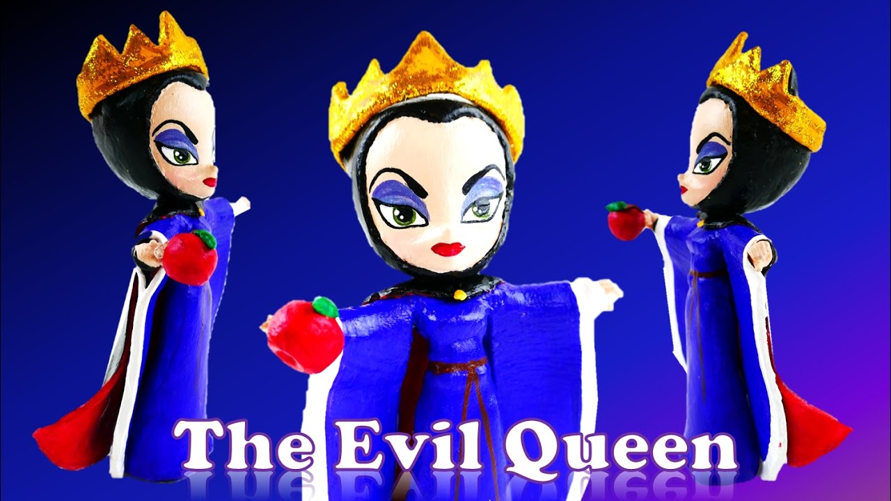 The Evil Queen Disney Snow White Villain Doll Custom - My Little Pony Equestria Girls Mini Toy