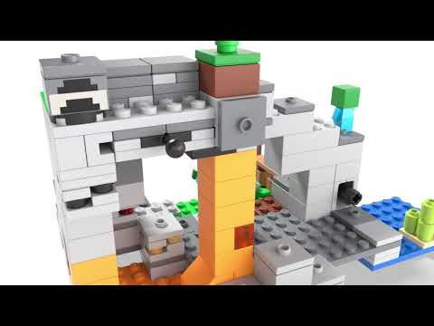 Vidéo LEGO Minecraft 21141 : La grotte du zombie