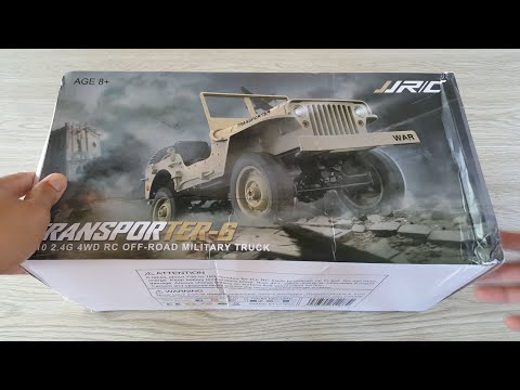 JJRC Q65 Willys Jeep - Military Truck - Unboxing - Teardown - Best Value 2019