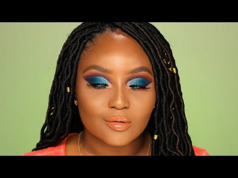 At it again with a colorful cut crease! Morphe 35V Tryout