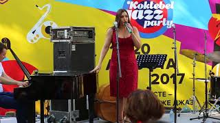 Дарина на Koktebel Jazz Party 2017