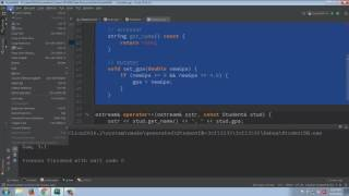 Separating a C++ class into a .h and .cpp files