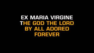 Christmas Songs - Christ Was Born On Christmas Day (Karaoke)