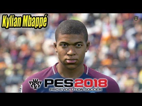 PES 2018 FACES MBAPPE - WORLD CUP EDITION - смотреть онлайн
