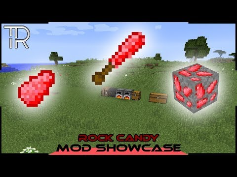 Minecraft Mod Showcase: Rock Candy (1.12.2)