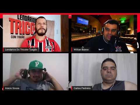Debate esportivo com Lendários do Tricolor