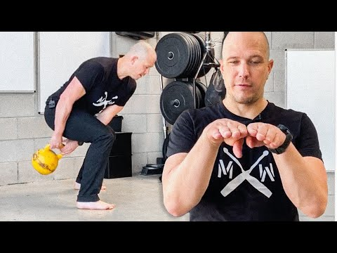 Kettlebell Warmups - Figure 8 - Back to Front