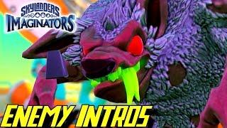 Skylanders Imaginators - All Enemy Intro Cutscenes