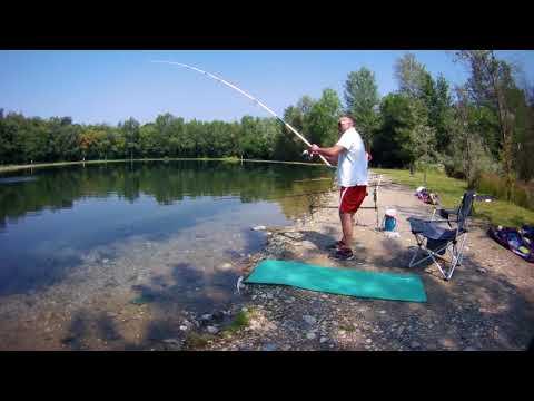 La pesca sul lago shumbar