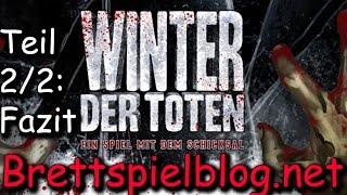 Winter der Toten im Test. Teil 2/2: Fazit - Heidelberger / Plaid Hat Games - Brettspielblog.net