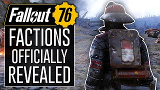 Fallout 76 News - NEW FACTIONS Revealed! The Responders, Free States, and Raiders Leader!