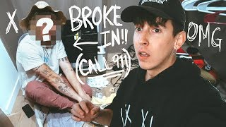 CAUGHT LIVING IN OUR OLD HOUSE!! (BROKE IN)