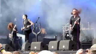 Satyricon - Commando (live @ FortaRock Nijmegen 2009)