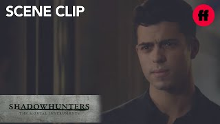 Shadowhunters | Season 2, Episode 4: Aldertree Interrogates Raphael | Freeform