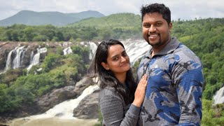 BEAUTIFUL WATERFALLS near NAMMA BENGALURU - Shiavansamudra   Mr and Mrs Bigbangbiker on a ride 😍