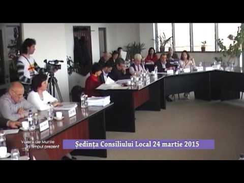 Emisiunea Vălenii de Munte la timpul prezent – Ședința Consiliului Local din 24 martie 2015 – 27 martie 2015