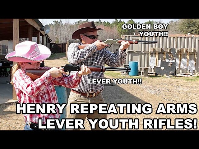 Henry Youth Lever Rifles! Golden Boy Youth & Lever Youth Rimfires