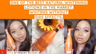 REVIEW ON ONE OF THE BEST WHITENING NATURAL LOTIONS  IN THE MARKET   WHITENS WITHOUT SIDE EFFECTS