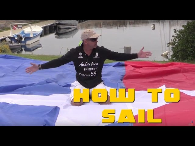 SAILING TIPS 3 - USO DE LA VELA GENNAKER - SETTING UP GENNAKER VEIL -JUAN FRANCISCO NOVION