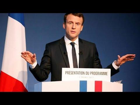 Γαλλία: Ο Εμανουέλ Μακρόν παρουσίασε το οικονομικό του πρόγραμμα