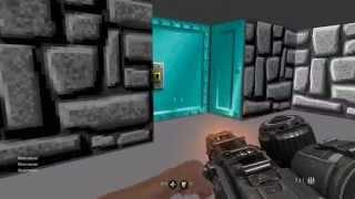 Пасхалка в Wolfenstein: The Old Blood. И снова Wolfenstein 3D [60 FPS]