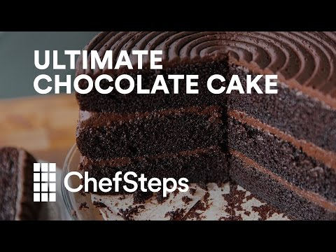 Seeing The Most Decadent Chocolate Cake Get Made Is Just Unfair