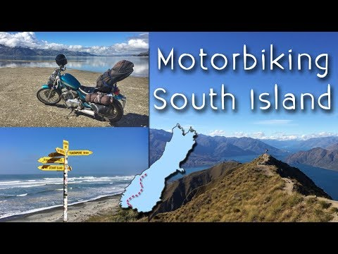NZ28 Motorbiking South Island // To The End of the Road