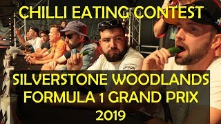 Silverstone Woodlands F1 Grand Prix: Chilli Eating Contest 2019
