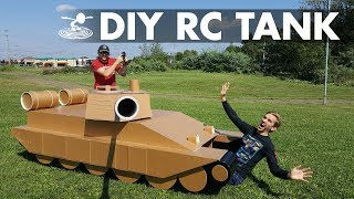 How to Build a Giant 12-Foot RC Tank!